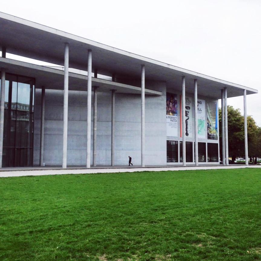 慕尼黑現代藝術陳列館外觀