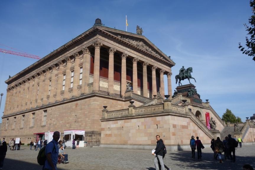 柏林博物館島_舊國家畫廊(Alte Nationalgalerie)